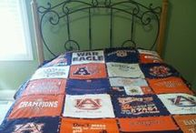 Auburn Home Fashion and Game Day Decorations / No way better to decorate than with Orange and Blue!  All of Your Auburn Decorations and Home Fashion Ideas.   Check this out ~www. RollTideWarEagle.com ~ sports stories that inform and entertain, plus #collegefootball rules tutorial called Train Deck. Give Train Deck a try, it's a free, easy and fast way to learn the rules of the game you love. #Auburn #WarEagle #Auburnfootball