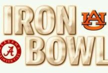 Iron Bowl / The Best Rivalry in the Nation....The Iron Bowl  ~ Check this out ~ www.RollTideWarEagle.com ~ sports stories that inform and entertain, plus #collegefootball rules tutorial called Train Deck. #RTR #RollTide #WarEagle #Alabamafootball #Auburnfootball www.RollTideWarEagle.com