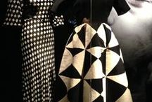 Svart vitt  Gudruns / Black and White - patterns and design and fashion