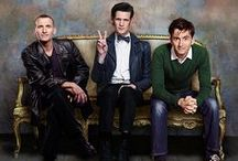 Eccleston, Tennant, Smith, and Capaldi / by Laurie M
