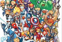 Marvel and DC / by zermeen amira