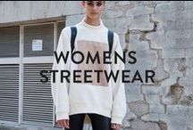 WOMENS STREETWEAR INSPIRATION / All the dopest womens street fashion that we find inspiring!   Shop womens urban fashion at WWW.PASAR-PASAR.COM