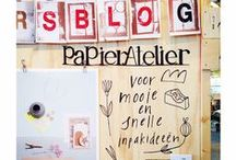het Papier Atelier / Het Papier Atelier laat de online wereld van HappyMakersBlog.com daadwerkelijk tot leven komen. HappyMakersBlog.com is een spiksplinternieuw platform opgericht door Monique van der Vlist, artdirector van 101Woonideeën. Op deze website spelen creativiteit, illustraties en handgemaakte producten en ontwerpen de hoofdrol.  Het Papier Atelier: Flavourites Live (2014) en ShowUp (2015) / by Vli privé