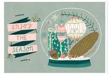 KerstkaartenCountdown 2014 / Aftellen tot aan kerst: iedere dag een blog met kerstkaarten van Nederlands ontwerp.     #kerstkaartencountdown #101kerstkaartencountdown #christmascard #postcard #holidaycards #dutchdesign #kerstkaart #illustration / by Vli privé