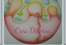 mandala's from al over the world en from myself / ik geef les in mandala tekenen in mijn Atelier Crea Diversa.  Vind het heerlijk ontspannend om te doen en te delen met andere mandala liefhebbers