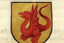 Sárkány címer, logo, jelképek