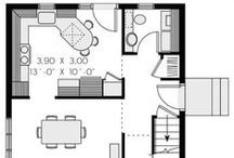 House Plans & Room Layouts / A board of 2D architectural plans for houses and rooms.  See different room layouts and home decor ideas, house design inspiration and more.