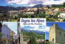 Seyne-les-Alpes & son fort Vauban / Notre camping est situé au pied du charmant village de Seyne les Alpes classé « Station Verte de Vacances » et « Villages et Cités de Caractère ».