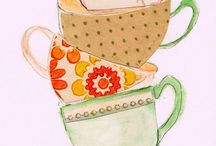 Gudrun cups / Colourful cups and patterns