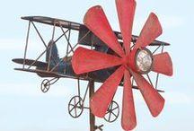 Whirligigs, Wind Spinner & Windmills