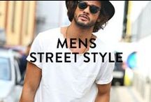 MENS STREET STYLE INSPIRATION / Get inspired by these well-dressed guys, and get your shopping done at www.pasar-pasar.com