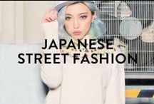 JAPANESE STREET FASHION / Japanese street fashion is known for being crazy, quirky, cute, and innovative. It's a great source of inspiration, whether it's just for your outfits, or if you're a designer!