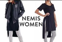 NEMIS WOMEN / Nemis Women is the collaboration between Korean streetwear designer Kyoung Kim and Scandinavian menswear label Nemis Clothing. The result is one of the dopest collections of womens streetwear we've seen in a long time!  Click the pins to shop, or check the full collection at http://pasar-pasar.com/collections/nemis-women