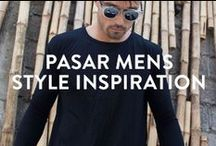MENS STYLE INSPIRATION / Check out some of our favourite pieces put together in outfits. Shop directly from the pins, or browse our selection at WWW.PASAR-PASAR.COM