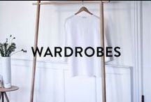 WARDROBE IDEAS / When you're wondering how to store all your new PASAR clothes, have a look at these awesome wardrobe solutions.