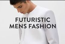 FUTURISTIC MENS FASHION / We've seen the future, and it's looking stylish! Here's some of our favourite futuristic fashion!