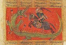Sárkány iszlám, perzsa