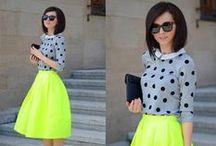 Neon Clothes for Women / Neon Clothes for Women. Neon Fashion.
