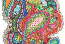 Paisleys / My Paisley passion and obsession!!