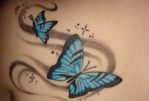 Cool Tattoos / by Toni-Leigh Davies