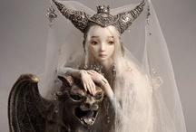 Art dolls / by Helene Aziz Maleki