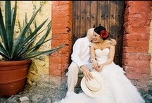 Hot Wedding Trend: Mexican Inspiration / If there is a more appropriate theme for a wedding at Hacienda Cocina y Cantina, we can't think of it.