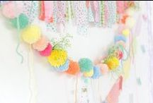 Celebrations / Ideas for decorations, styling for parties etc
