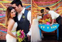Hot Wedding Trend: Neon