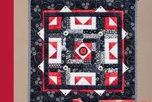 My Quilt books / These are books by Connie Kauffman