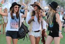 Music Festival Outfits / Need an outfit for a music festival? Music Festival Outfits & Music Festival Fashion.