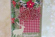 Moje kartki -Boże Narodzenie
