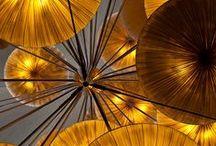 Shades of gold & amber
