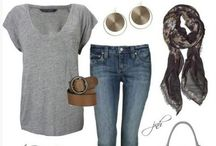 Wardrobe / If only I could revamp my whole wardrobe to look like this :)