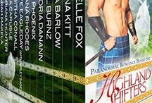 Highland Shifters Books & Stuff / The boxed set Highland Shifters, covers of the individual stories within the boxed set, and fun graphics related to #HighlandShifters. http://bit.ly/1o4AOlH