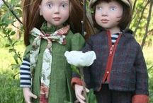 ZWERGNASE / De terribles poupées (35, 50 ou 55 Cm) avec un caractère bien trempé et qui se voit !! A découvrir très vite
