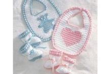 Punto niños, crochet, dos agujas / by ROSA MARTIN