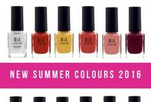 CrueltyFree Nail Polishes / 31 colores de esmaltes + top coat + base coat #MIAis5free #MIALaurensParis #NailPolishes #Beauty