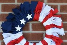 4th of July - DIY Home Decor / Home decor and DIY projects for Fourth of July.