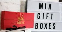 Gift Boxes MIA Cosmetics / Gift Boxes 100% personalized. Choose your fav shades!