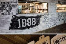Restaurante Decoração Rustico