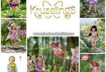 Kruselings / Découvrez ces petites poupées mesurant 23 cm conçues par Sonja Hartmann (créatrice des poupées Kidz'N'Cats) et fabriquées par Käthe Kruse.  Les Kruselings sont des petites fées, véritables Gardiennes des Rêves.  Laissez la magie vous emporter ..