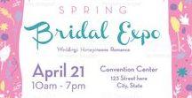 Spring Celebration Bridal Invitations / Spring Celebration Invitations Bridal Invitations