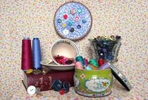 Fabrics, Buttons, Trims and Papers / My life, my love, my business / by Spinster's Emporium