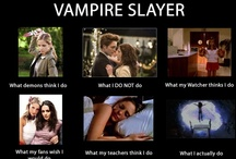 BTVS and Others / Mostly Buffy, but some other Vamps thrown in for fun. Buffy Rules. / by Linda Shackleferd