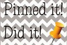 Pinned it, Did it!