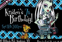 Monster High Bday Party / by Rabecca Jean