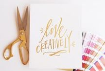 Lettering / Beautiful lettering and calligraphy
