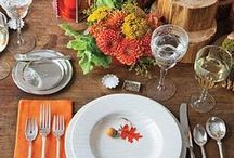Fall Corporate/Social Ideas / Everything you need for any type of fall entertaining, whether its recipes, decoration or simple ideas.