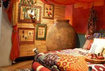 Bedroom / Decor ideas for dreamy bedrooms, romantic lighting, and gypsy style.  / by Rachael Caringella- Artist, Mystic, Oracle
