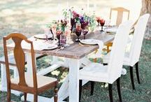 Tablescapes & Centerpieces / From rustic to classic to modern, we love creating new and unique designs!